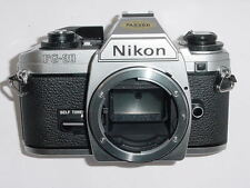 Nikon FG-20 35mm cámara SLR de película Manual FG20 cuerpo *** ex +++