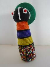 Handmade Good Luck Fertility Doll Beaded made by Ndebele Tribe South Africa #4
