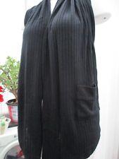 """angel eye"" ladies black knitted  top/cardigan b.n.w.t. freesize"