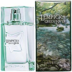 Lolita Lempicka Green Lover Eau De Toilette Hommes Neuf 100 ml