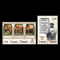 Finland 1982 - EUROPA Stamps - Historic Events - Sc 668/9 MNH