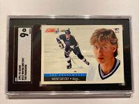 Wayne Gretzky SGC 9 MINT 💎 NHL Hockey Score Franchise #312 Collector Card 1991
