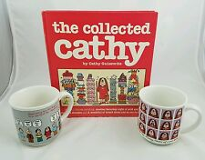 Vintage Cathy Comic Lot Includes The Collected Cathy Book 1982 & 2 Mugs in GUC
