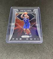 Zion Williamson PANINI PRIZM HOT ROOKIE 2019-20 FAR OUT INSERT RC #24