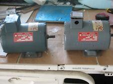 Baldor Electric, 50 OZ. Ft Lbs, 3 Ph, 220 Volts, 600 RPM, Fr. 56Z, 35E87-W05