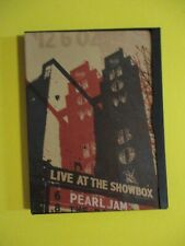 Pearl Jam Live At The Showbox Seattle 12/6/02 DVD