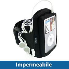 Nero Fascia Braccio Armband per Apple iPod Classic 80/120/160GB Sport Corsa