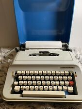 Vintage Underwood 378 Portable Typewriter With Carrying Case Collectors Piece