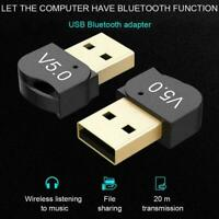 Bluetooth 5.0 Stereo Wireless Audio Transmitter Receiver Adapter USB P9R7 A2O9