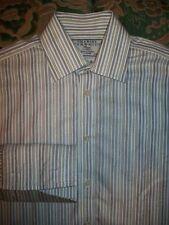Charles Tyrwhitt Men's Regular Striped Double Cuff Formal Shirts
