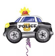 "Police Car Foil Shaped Balloon - 18"" X 24"" Police Squad Car"