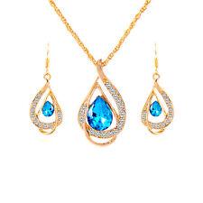 Turquiose Emerald Pendant Set by Zumqa SSM17