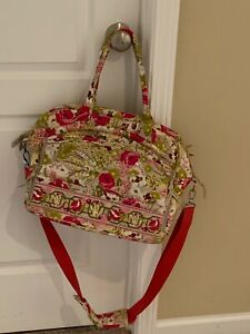 Vera Bradley MAKE ME BLUSH Metropolitan Style Laptop Computer Bag RETIRED