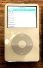 Apple iPod Classic 5th Gen White 30GB MA002LL/A AAC WAV MP3 Video Player