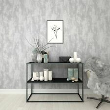 Boutique Silver Industrail Texture Wallpaper
