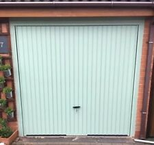Chartwell Green canopy Garage Door up and over steel cheap eBay bargain deals