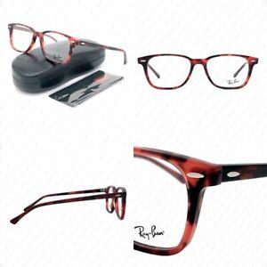 New Ray Ban RX7119 5948 53mm Havana Opal Pink w/Demo Lens Eyeglasses 53-17-145mm