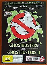 Ghostbusters / Ghostbusters II *R4*DVD-2-Disc*R4**Terrific Cond*Glow In The Dark