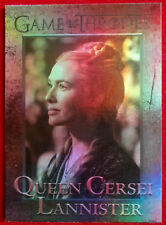GAME OF THRONES - QUEEN CERSEI LANNISTER - Season 4 - FOIL PARALLEL Card #51