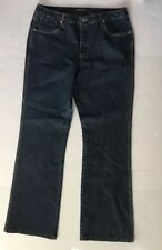 French Cuff Womens Size 12 Boot Cut Jeans