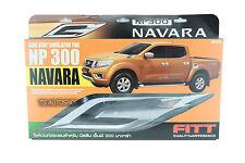 CHROME PAIR SIDE VENT FENDER SIMULATOR FOR NISSAN NAVARA NP300 D23 TRUCK 2015-ON