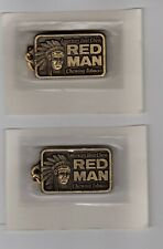 New listing Lot Of (2) 1988 Red Man Chewing Tobacco Key Chain in Original Package