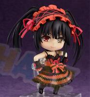 Nendoroid 466 Date A Live II Kurumi Tokisaki Action Figure Toy Doll Gift 10cm