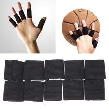 10pcs/Set Finger Splint Guard Bands Bandage Support Wrap Fingerstall Sleeve Caps