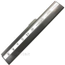 Battery for ASUS A52 A52F A52J A52JB A52JK K52f P52JC X52DE X52 A31-K52 A32-K52