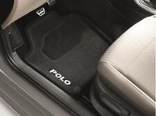 Original Volkswagen VW Polo 6R Textil Fußmatten Optimat Satz 4-teilig 6R1061445