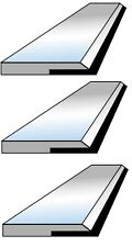 3 Fers de dégauchisseuse CARBURE en 260 x 20 x 2.5 mm - Top qualité !