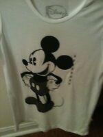 Mickey Mouse Womens Tee Shirt  Women Sz Medium NWT