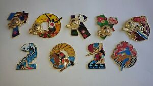 Brand New Olympic Art Collection Tokyo 2020  9 pin set