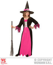 Girls Kids Childs Witch Halloween Fancy Dress Costume Outfit 4-5 Yrs