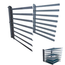 Wall Fixed 8 Layer Screen Printing Shop Frame / Rack / Storage / Holder US Stock
