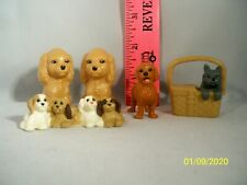 LOT OF 5 BARBIE DOLL DOGS ANIMALS PETS