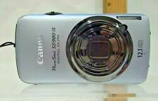 Canon PowerShot Digital ELPH SD980 IS 12.1MP Digital Camera *Good/Tested*
