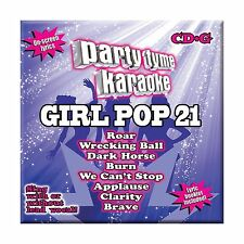 Party Tyme Karaoke - Girl Pop 21 [8+8-song CD+G] Free Shipping