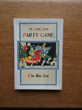 """DENNIS'S THE """"DAINTY"""" SERIES No. G695 ON THE ICE PARTY GAME 1930-1931 BOXED EXC"""