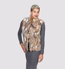 Real Cat Lynx Fur Vest, Cropped Vest, Woman Vest, Gift, Handmade