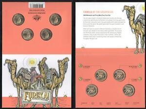 2020 RAM EUREKA AUSTRALIA'S GOLD RUSH COIN SET UNC UNCIRCULATED MINT & PERFECT