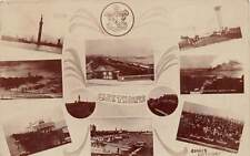 Cleethorpes, England, Multi-View Of Various Town Locations, Rppc, c. 1904-14