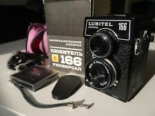 * EXC * LOMO LUBITEL 166 UNIVERSAL TLR CAMERA + ORIGINAL BOX