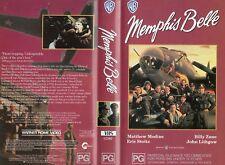 MEMPHIS BELLE - Billy Zane - VHS - PAL - NEW -Never played! -Original Oz release