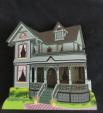 Tinker Toy House Howell Michigan Soc04 Collectors 1996 Society Piece Shelia'S
