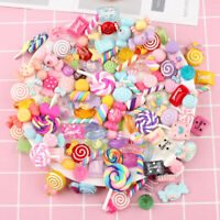 Resin Lollipop Candy Cabochons DIY Crafts Phone Shell Materials Hair Accessories