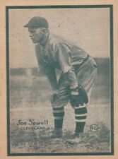 1931 W517 #46 Joe Sewell NM--->Great rare and high-quality card of this HOFer!!!