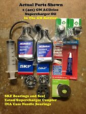 Jaguar XJR M90 Eaton Supercharger Bearings Coupler SKF Eaton INA Needle