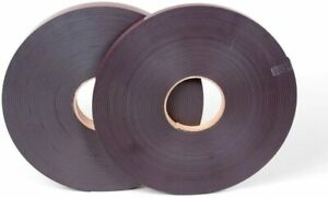 Self Adhesive Magnetic Tape 12mm x 1m 5m 10m 30m Side B Side A or Both - UK Made