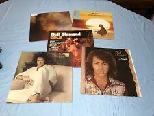 Neil Diamond Vinyl LP Lot Of 5 Gold Serenade Moods